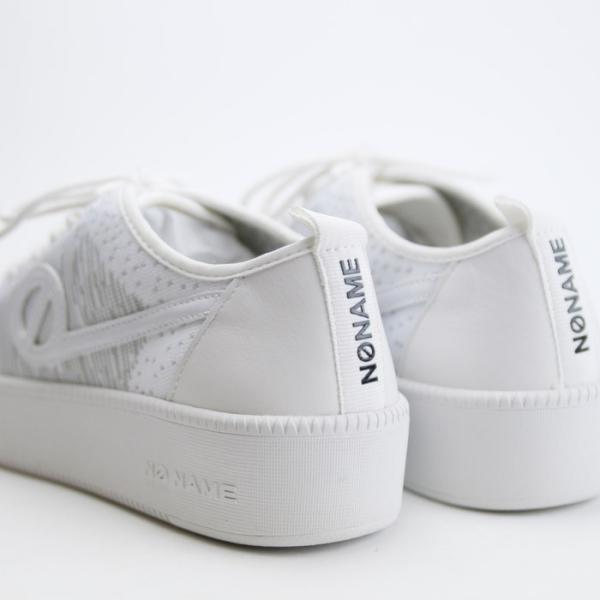 ノーネーム スニーカー ジャバ NO NAME JAVA-71518 レディース 白 ホワイト ニットスニーカー レザー フラットスニーカー シューズ 靴|shop-kandj|04