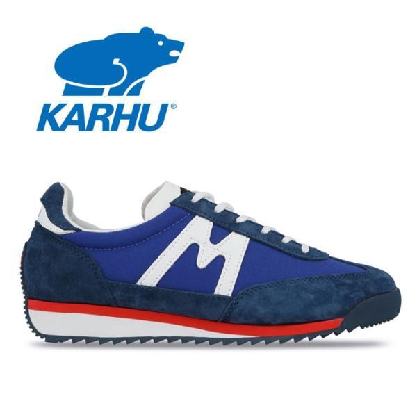 カルフ KARHU チャンピオンエア CHAMPIONAIR KH805002 ブルー ホワイト 青 白 スニーカー ランニングシューズ レディース メンズ 靴 レトロラン shop-kandj