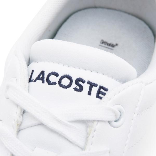 ラコステ LACOSTE カーナビー エボ スニーカー メンズ ローカット レザー ホワイト CARNABY EVO BL 1 SPM1002-001|shop-kandj|03