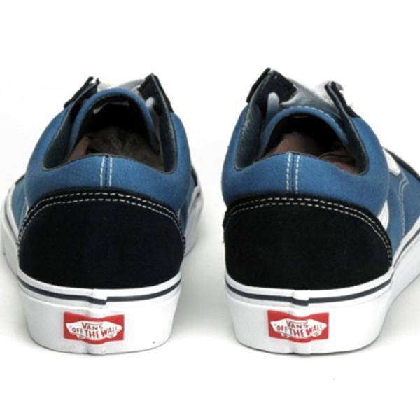 バンズ オールドスクール ネイビー 紺白 スニーカー スケートシューズ メンズ レディース ローカット スウェード キャンバス VANS OLD SKOOL NAVY shop-kandj 03