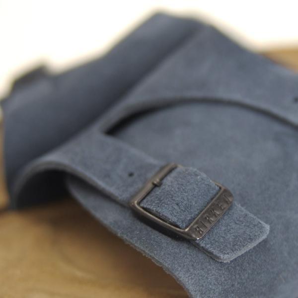 ビルケンシュトック Birkenstock チューリッヒ レディース メンズ サンダル コンフォート 青 ブルー 本革 スエード 紺 ネイビー ZURICH 幅狭|shop-kandj|05