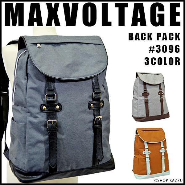 リュック リュックサック レディース カジュアルリュック GC-Selection MAXVOLTAGEシリーズ #3096