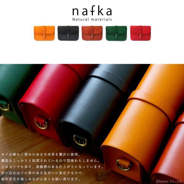 ショルダーバッグ レディース 本革 小さめ ナチュラル レザー ハンドステッチ 斜め掛け バッグ ミニショルダー nafka NFK-2201|shop-kazzu|02