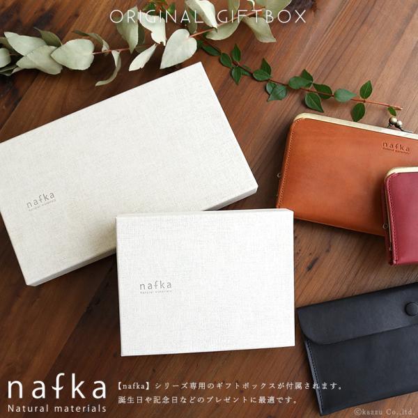 財布 長財布 レディース がま口 本革 薄い ギャルソンウォレット 日本製 がま口財布 nafka NFK-72001|shop-kazzu|17
