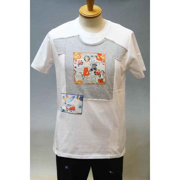 BOBボブのパッチワークTシャツ(イタリー製) shop-kinkodo