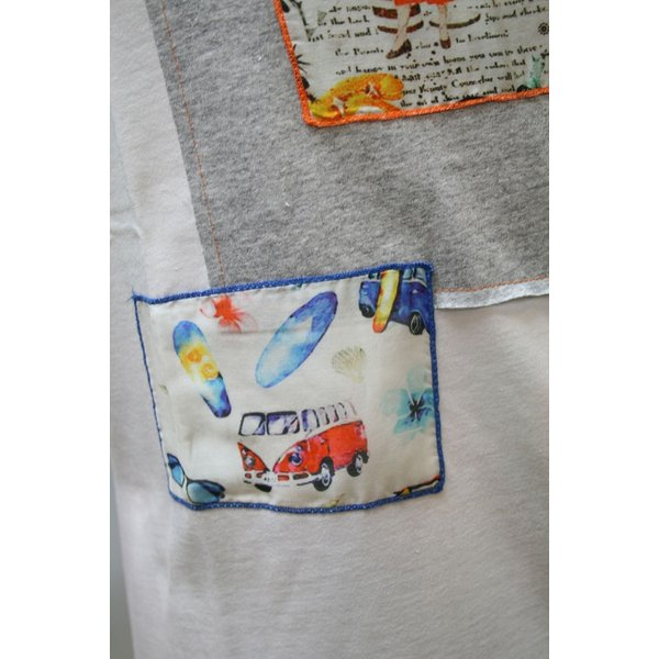BOBボブのパッチワークTシャツ(イタリー製) shop-kinkodo 03