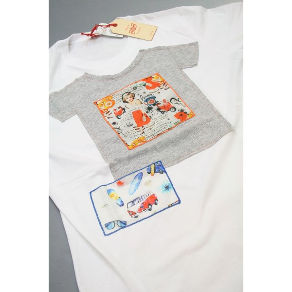 BOBボブのパッチワークTシャツ(イタリー製) shop-kinkodo 04