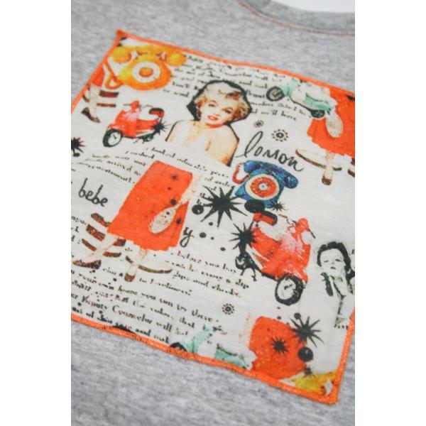 BOBボブのパッチワークTシャツ(イタリー製) shop-kinkodo 06