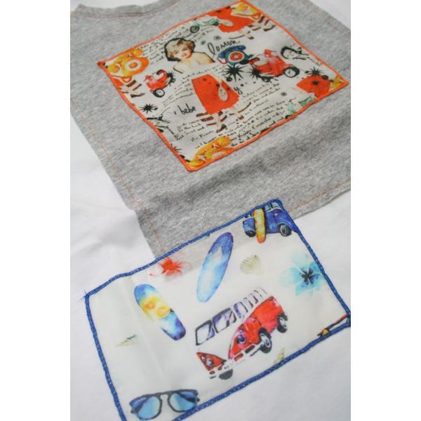 BOBボブのパッチワークTシャツ(イタリー製) shop-kinkodo 07