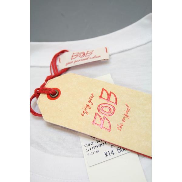 BOBボブのパッチワークTシャツ(イタリー製) shop-kinkodo 08