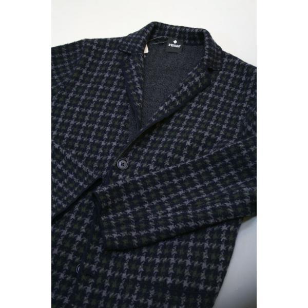 アンドレア フェンツィ【ANDREA FENZI】ハウンドトゥースのニットジャケット|shop-kinkodo|03