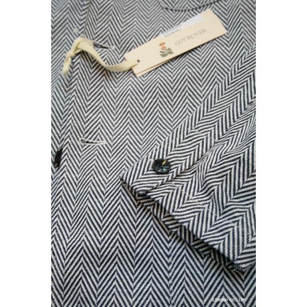 ナチュラルストレッチのギ・ローバー社ヘリンボーンコットンジャケット。Guy Rover イタリー|shop-kinkodo|10