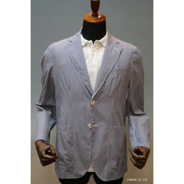 LancrediのイタリアMONTI社のシャツ生地を使ったジャケット。|shop-kinkodo