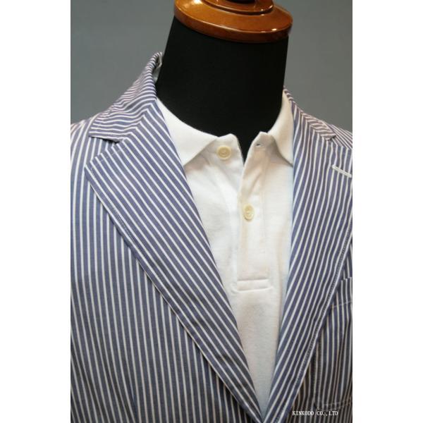 LancrediのイタリアMONTI社のシャツ生地を使ったジャケット。|shop-kinkodo|10