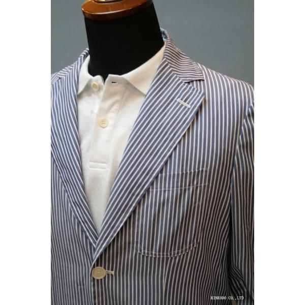 LancrediのイタリアMONTI社のシャツ生地を使ったジャケット。|shop-kinkodo|12