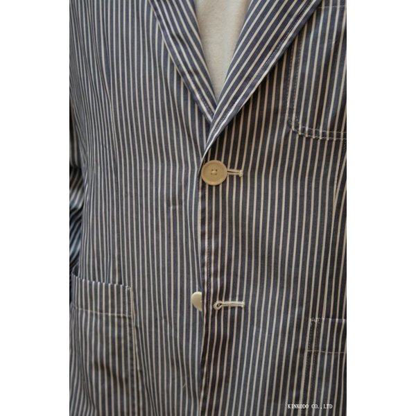 LancrediのイタリアMONTI社のシャツ生地を使ったジャケット。|shop-kinkodo|02