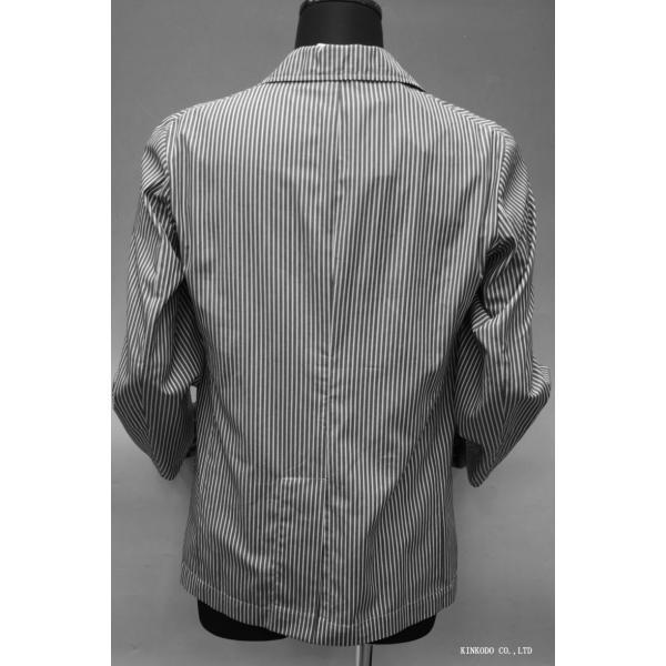 LancrediのイタリアMONTI社のシャツ生地を使ったジャケット。|shop-kinkodo|03
