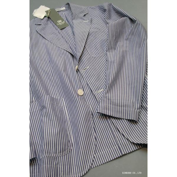 LancrediのイタリアMONTI社のシャツ生地を使ったジャケット。|shop-kinkodo|04