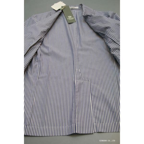 LancrediのイタリアMONTI社のシャツ生地を使ったジャケット。|shop-kinkodo|06