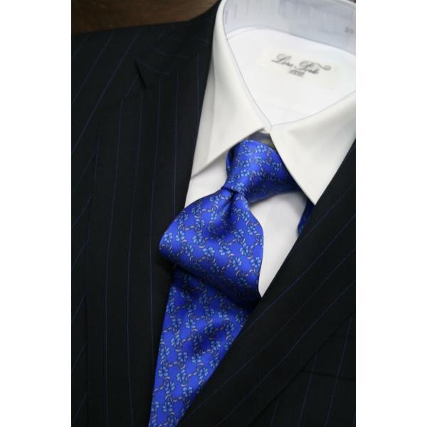 シルビオ・フィオレッロ【Silvio Fiorello】綺麗なブルーベースに花柄プリント|shop-kinkodo|06