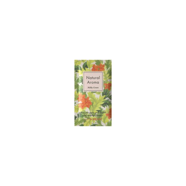 【薬用入浴剤】 ナチュラルアロマ ミルキーグリーン|shop-linoa