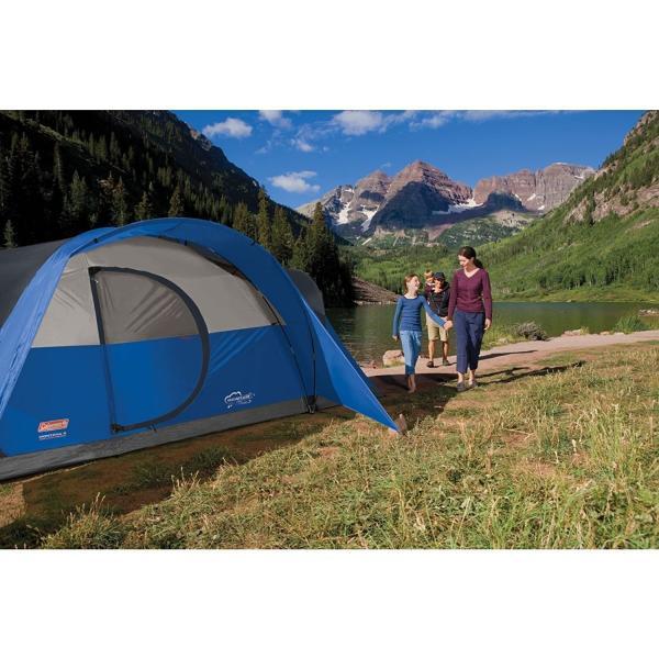 コールマン モンタナテント8人用 ブルー Coleman Montana 8-Person Tent 並行輸入品|shop-m-haot|05