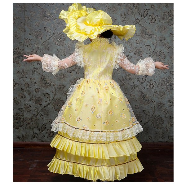 キッズ 子供服 ワンピース 演奏会ドレス 司会 劇場 ステージ 衣装としても最適 人気お姫様ドレス 公爵夫人 貴族服ドレス ドレス 中世 貴族|shop-manten|13