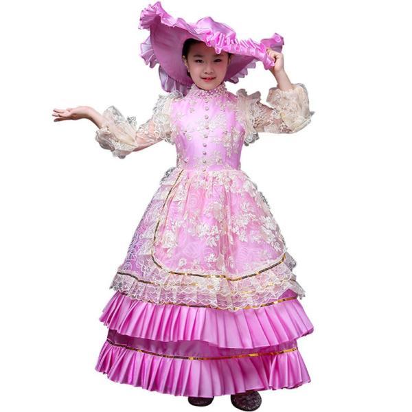 キッズ 子供服 ワンピース 演奏会ドレス 司会 劇場 ステージ 衣装としても最適 人気お姫様ドレス 公爵夫人 貴族服ドレス ドレス 中世 貴族|shop-manten|20