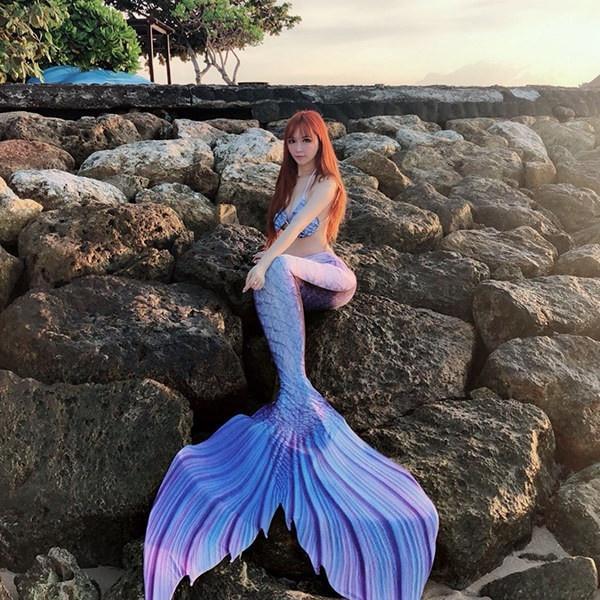 オーダーメイド可能 3カラー 人魚姫 レディース水着 子供服 マーメイド水着 体型カバー 記念撮影 温泉水着 人魚 水着 ビキニ