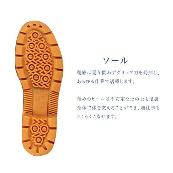 ミツウマ キープ長タフNo.5 メンズ 作業 長靴 軽量 丈夫 オールシーズン 庭 農業 ガーデニング 梅雨 防水 雨靴|shop-mitsuuma|05