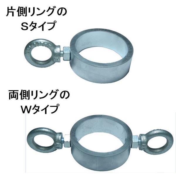 単管パイプや単管杭にロープやチェーンが張れる単管金具!取付簡単な単管パイプジョイント。|shop-shinkou|05