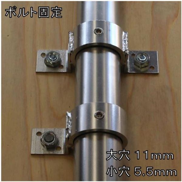 単管パイプジョイント φ48.6mm用 板貼り用 ホローセットでがっちり固定 SJ12 shop-shinkou 03