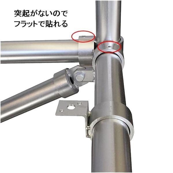 単管パイプジョイント φ48.6mm用 板貼り用 ホローセットでがっちり固定 SJ12 shop-shinkou 05