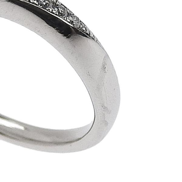 ヴァンドーム青山 VENDOME AOYAMA ピンキー リング 指輪 プラチナ Pt950 ダイヤモンド 0.225ct 4号 鑑付 本物保証 超美品 shop-takashimaya7 02