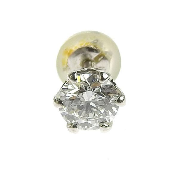 本物保証 超美品 ノーブランド OTHER BRAND 一粒石 ピアス プラチナ Pt900 ダイヤ 0.492ct/0.485ct 1.6g|shop-takashimaya7|03