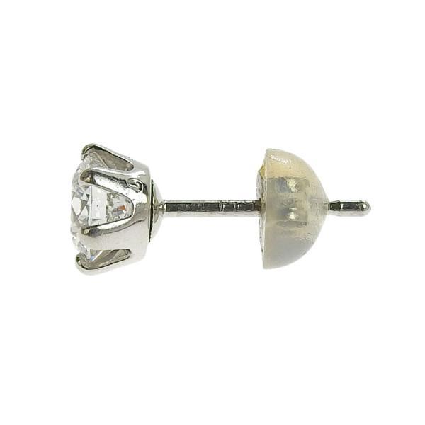 本物保証 超美品 ノーブランド OTHER BRAND 一粒石 ピアス プラチナ Pt900 ダイヤ 0.492ct/0.485ct 1.6g|shop-takashimaya7|04