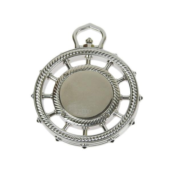本物保証 美品 セイコー SEIKO クレドール 懐中時計 K18 ダイヤモンドベゼル シェル文字盤 4J80 0030