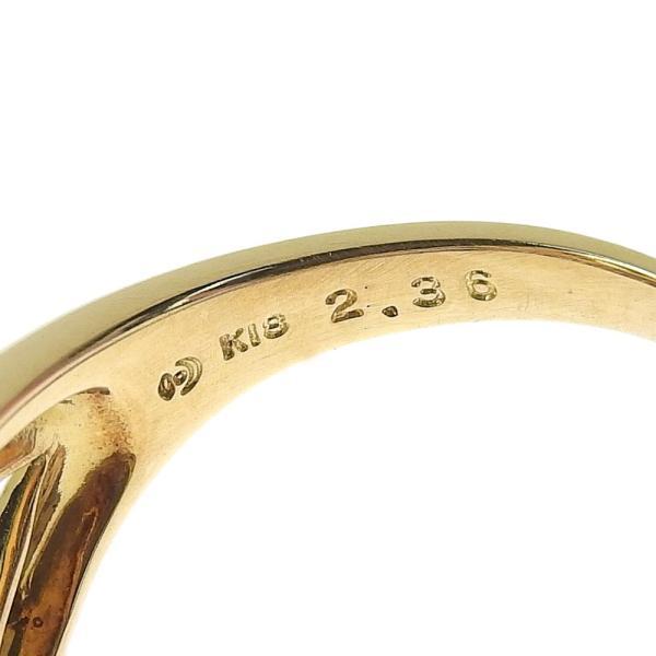 本物保証 超美品 タサキ TASAKI リング 指輪 K18YG インペリアルトパーズ2.36ct メレダイヤ0.13ct 6.4g 17号|shop-takashimaya7|06