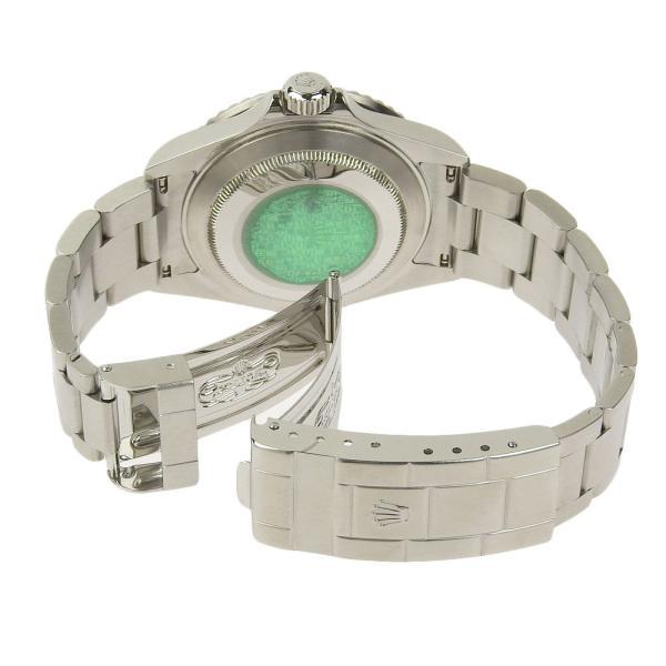 本物保証 美品 ロレックス ROLEX サブマリーナ グリーンベゼル ノンポリッシュ メンズ 腕時計 16610LV D番|shop-takashimaya7|04