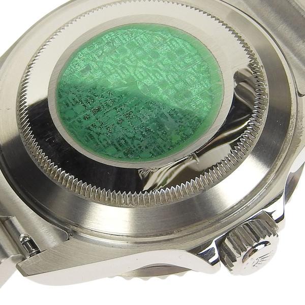 本物保証 美品 ロレックス ROLEX サブマリーナ グリーンベゼル ノンポリッシュ メンズ 腕時計 16610LV D番|shop-takashimaya7|06