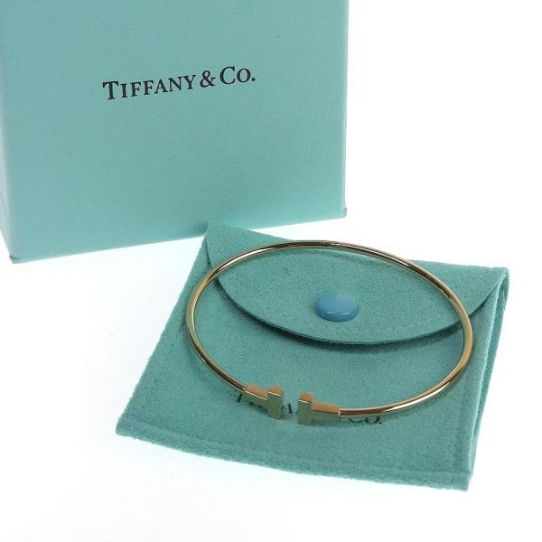 本物保証 超美品 ティファニー TIFFANY & Co. Tナロー ワイヤー バングル ブレスレット K18PG|shop-takashimaya7|06