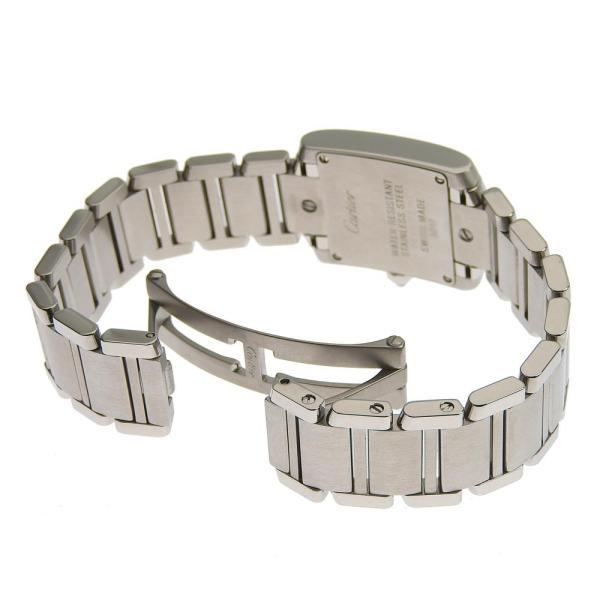 カルティエ CARTIER タンクフランセーズSM 11PD インデックスダイヤ レディース クォーツ 腕時計 WE110006  本物保証 超美品|shop-takashimaya7|04
