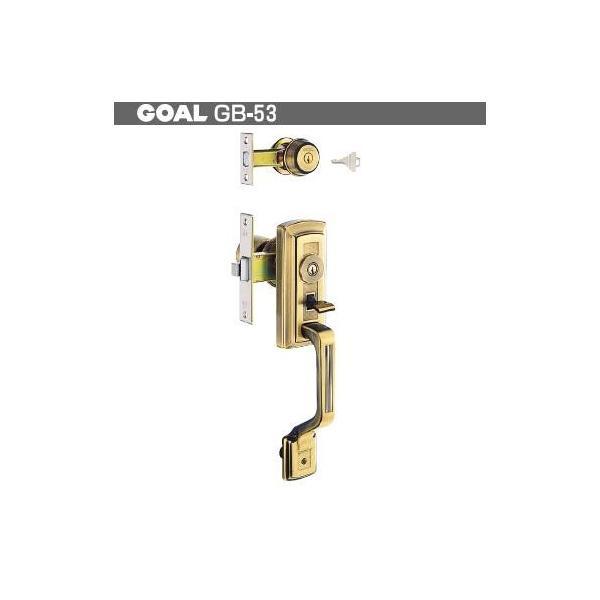 【WD0974】三協アルミ 玄関 装飾錠 GOAL 特殊錠 Kシリーズ GB-53