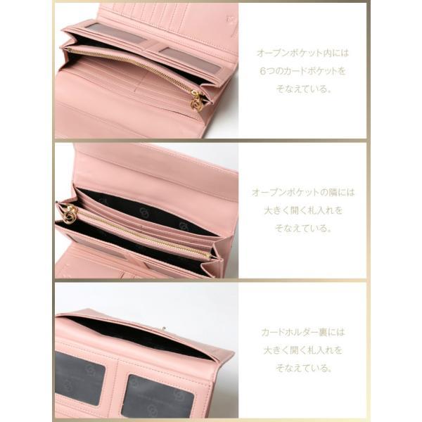 長財布 財布 本革 レディース 2つ折り 長財布 レザー クロコダイル 柄の型押し レザー PD56ギフト対応|shop-ybj|14