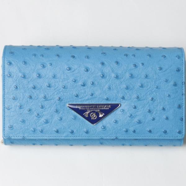 財布 レディース 長財布 Provence Dream 大容量 ポシェット クラッチバッグ 折り財布  オーストリッチ アコーディオン PD51|shop-ybj