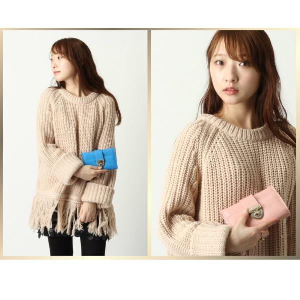 財布 2つ折り財布 レディース 二つ折り クロコダイル ミニ財布 ブランド  PD55 通|shop-ybj|11