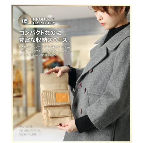 財布 2つ折り財布 レディース 二つ折り クロコダイル ミニ財布 ブランド  PD55 通|shop-ybj|12