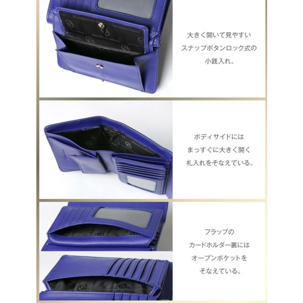 財布 2つ折り財布 レディース 二つ折り クロコダイル ミニ財布 ブランド  PD55 通|shop-ybj|14