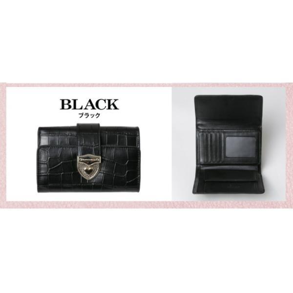 財布 2つ折り財布 レディース 二つ折り クロコダイル ミニ財布 ブランド  PD55 通|shop-ybj|21