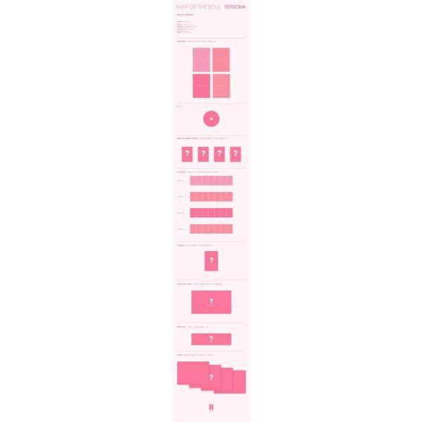 【4種セット|優先予約|全曲和訳】BTS MAP OF THE SOUL : PERSONA 防弾少年団 新 アルバム【先着ポスター|レビューで生写真5枚|送料無料】|shop11|02